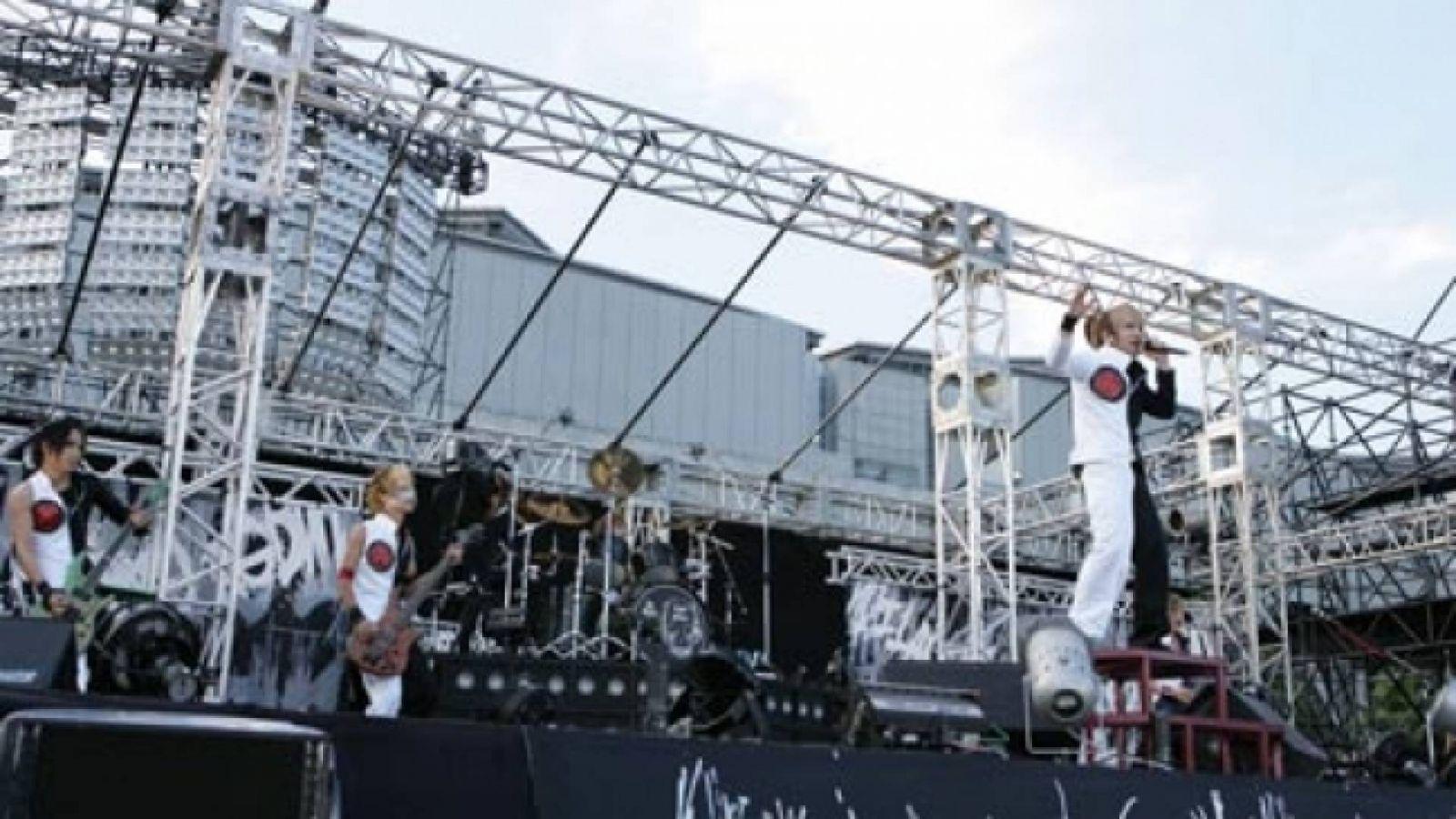 Концерт the GazettE в Tokyo Big Site © PS Company