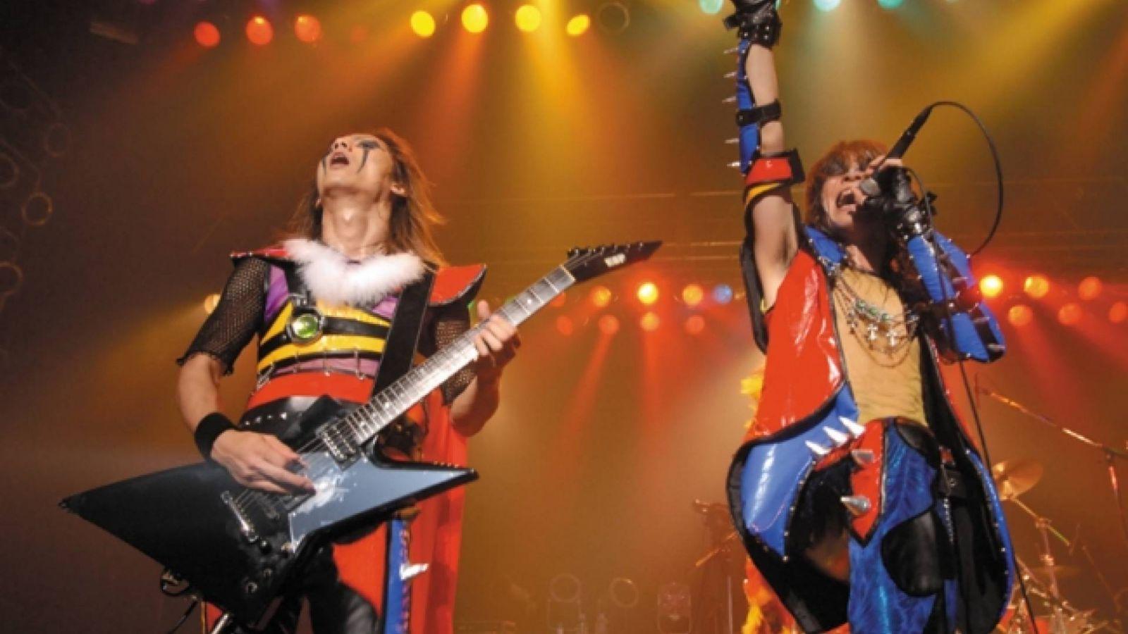 Concierto por el 10º aniversario de ANIMETAL  [Songs For Everlasting Future] final del tour  en el Zepp Tokyo © Animetal