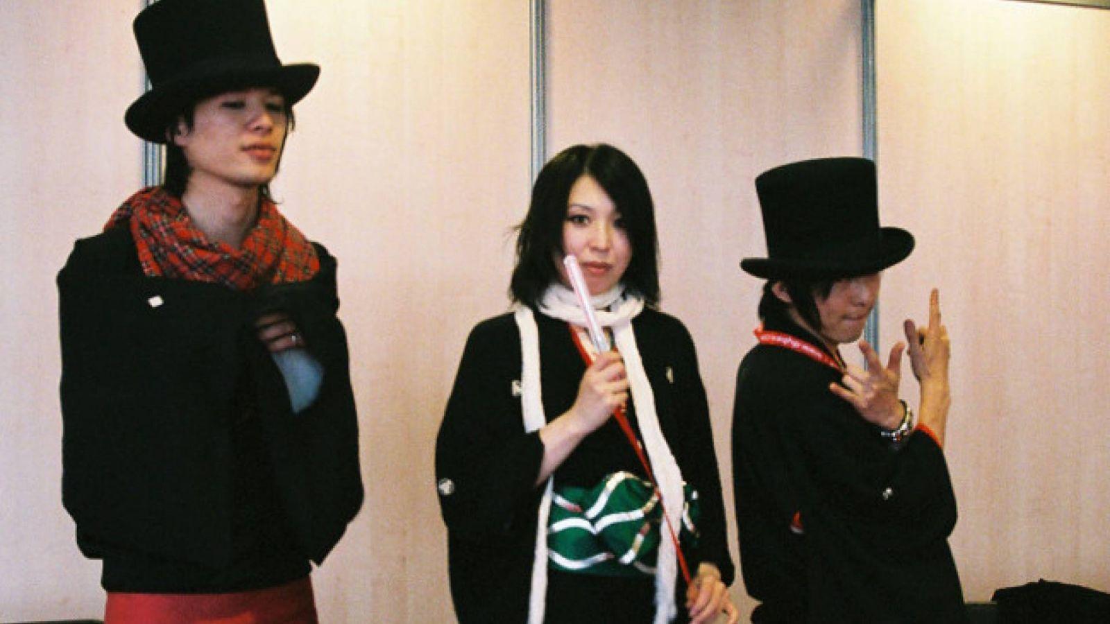 Konferencja prasowa CATSUOMATICDEATH na Japan Expo © CATSUOMATICDEATH  - Aurore - JaME