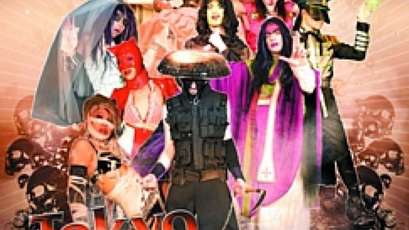 TOKYO DECADANCE fête Halloween en Europe © Tokyo Decadance