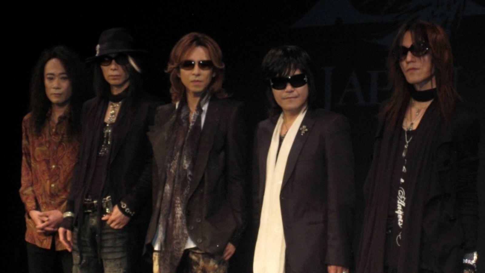 Arkistojen kätköistä: X JAPANin lehdistötilaisuus Japanissa © Leela - JaME - X JAPAN