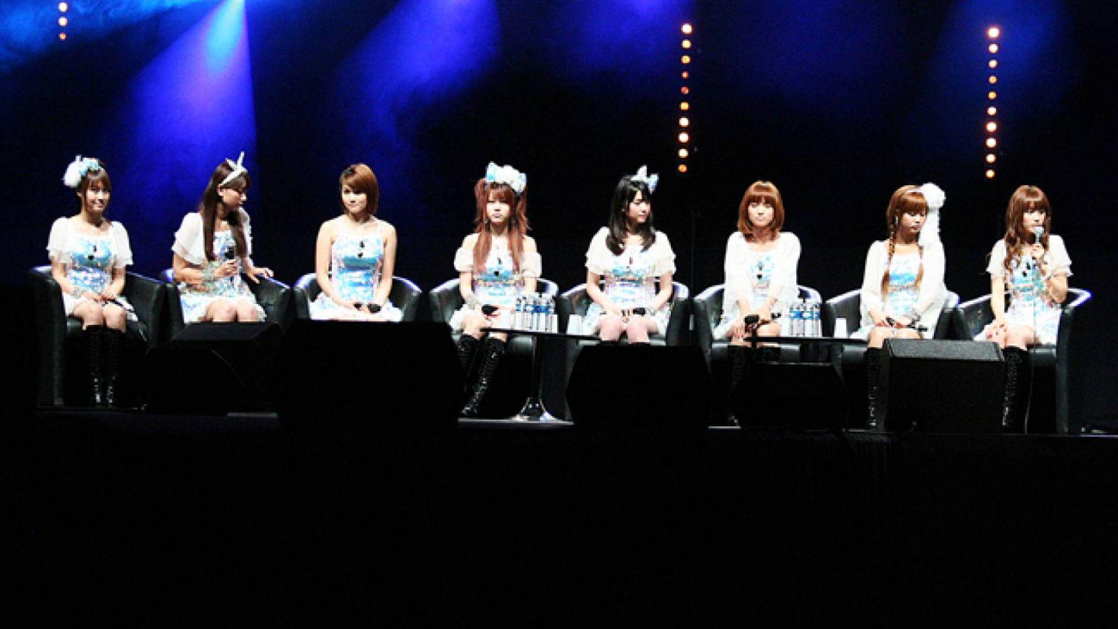 Публичная конференция Morning Musume◦ на Japan Expo © Morning Musume. - JaME - Jeremy Corral