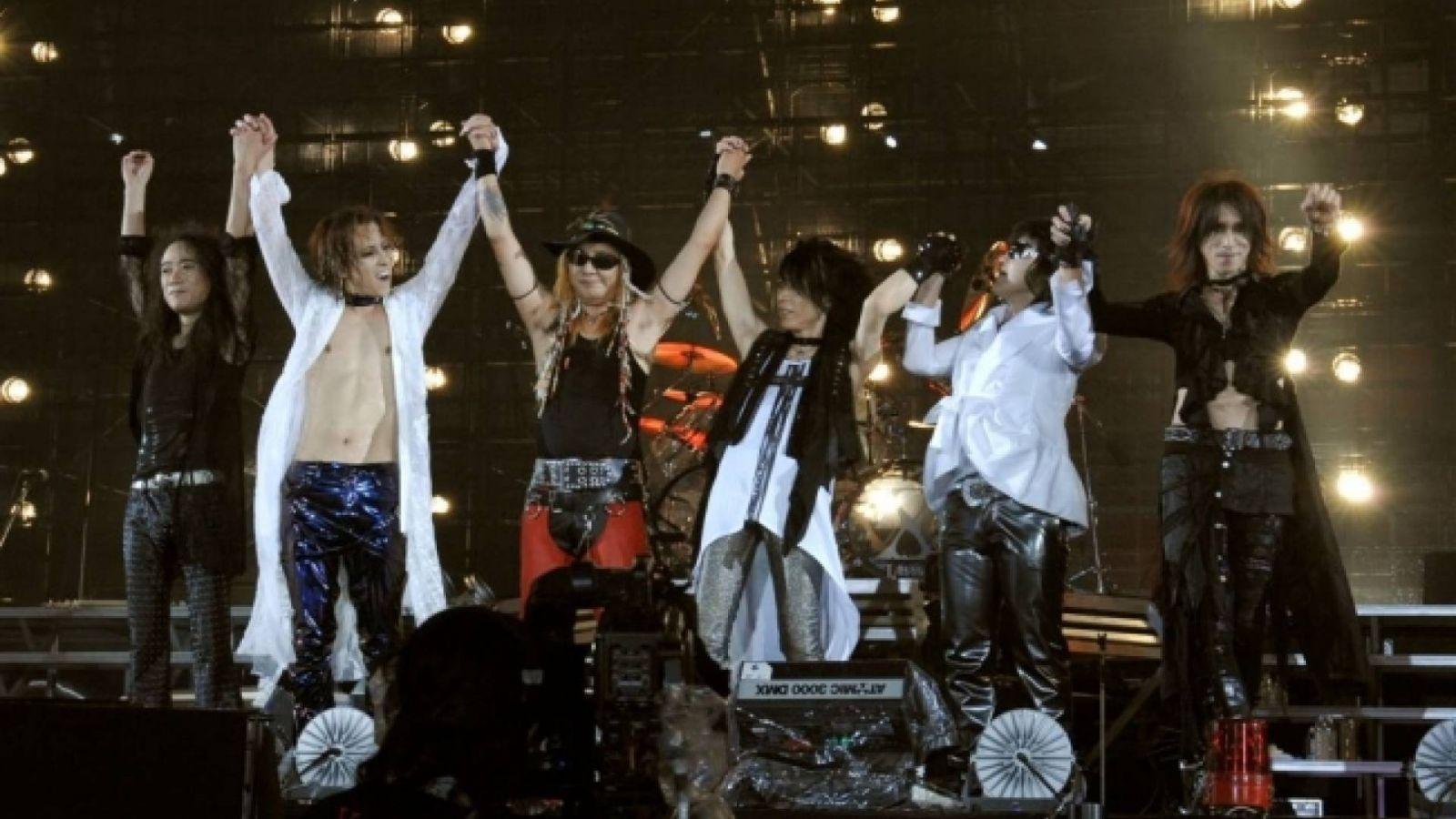 Show do X JAPAN na América Latina © X JAPAN