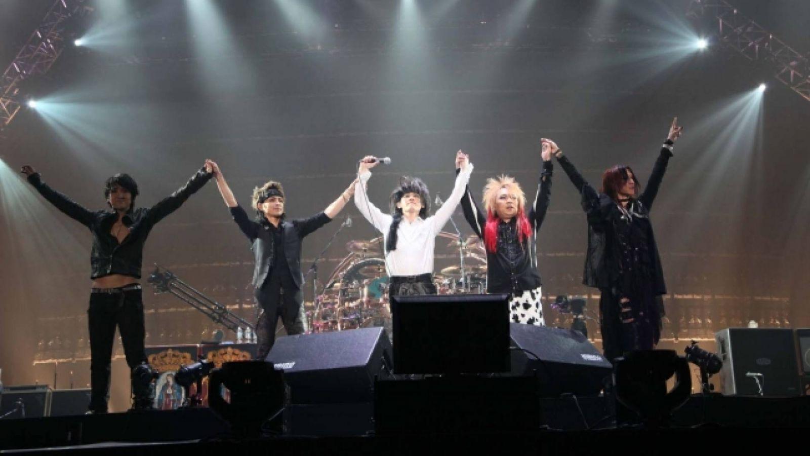 LUNA SEA Lunacy: Kurofuku Gentei GIG ~the Holy Night~ at Tokyo Dome © LUNA SEA Inc.
