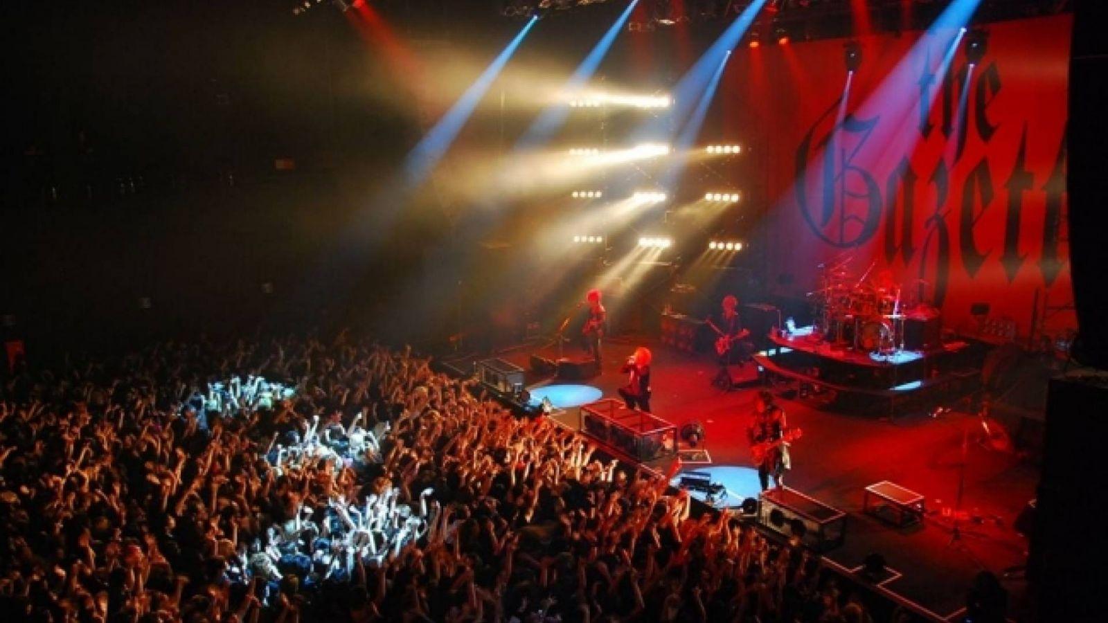 Концертный DVD the GazettE © PS COMPANY