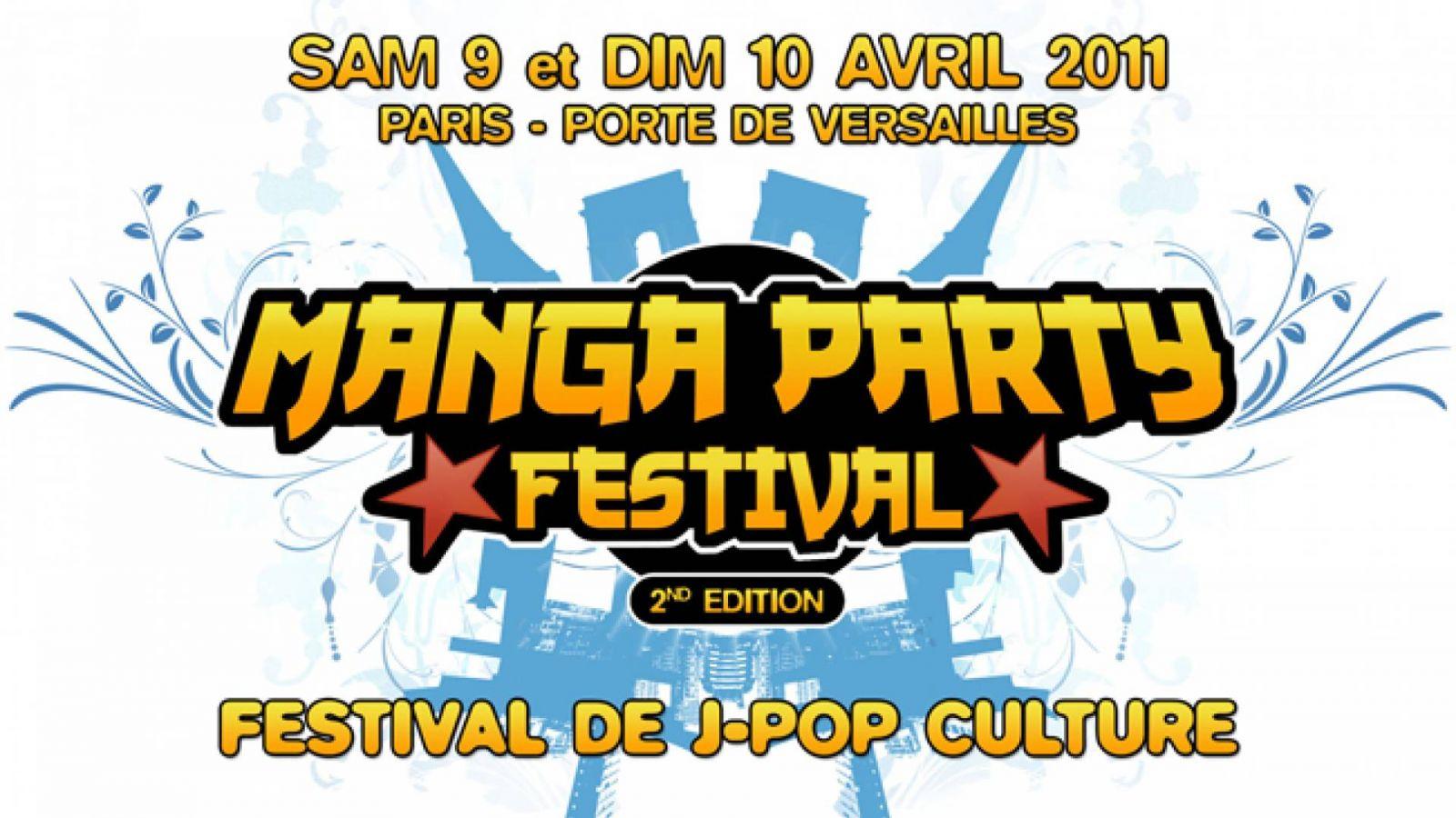 Le programme de Manga Party Festival © Manga Party Festival