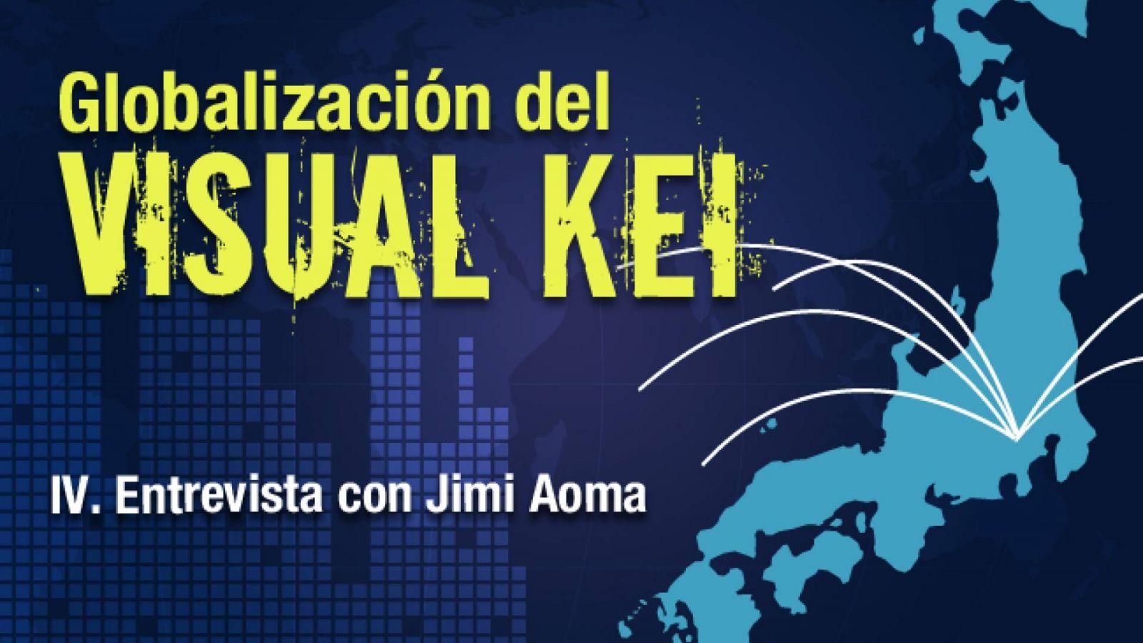 La globalización del Visual Kei: Entrevista con Jimi Aoma © Lydia Michalitsianos