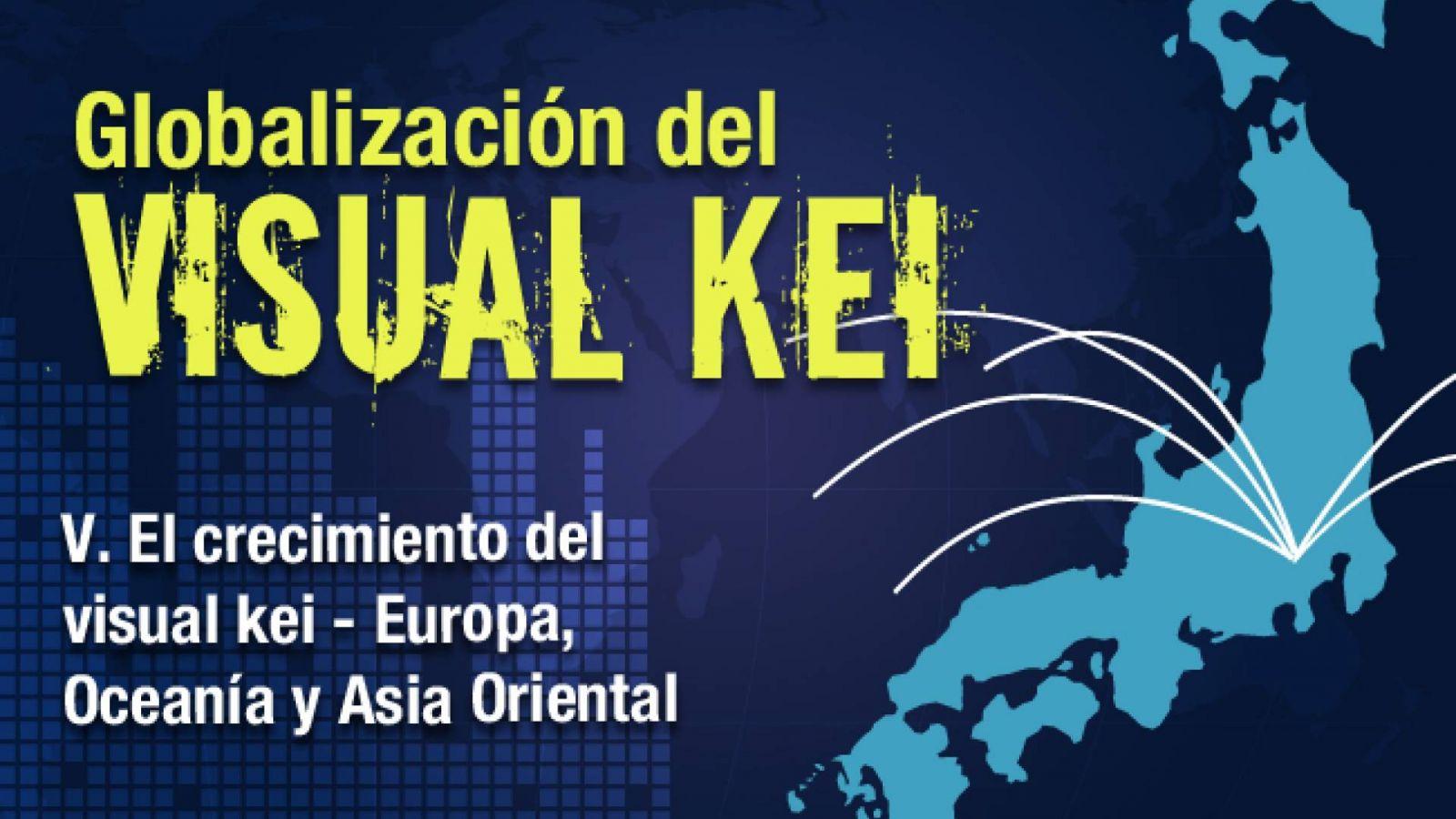 La globalización del Visual Kei: El crecimiento del Visual Kei - Europa, Oceanía y Asia Oriental © Lydia Michalitsianos