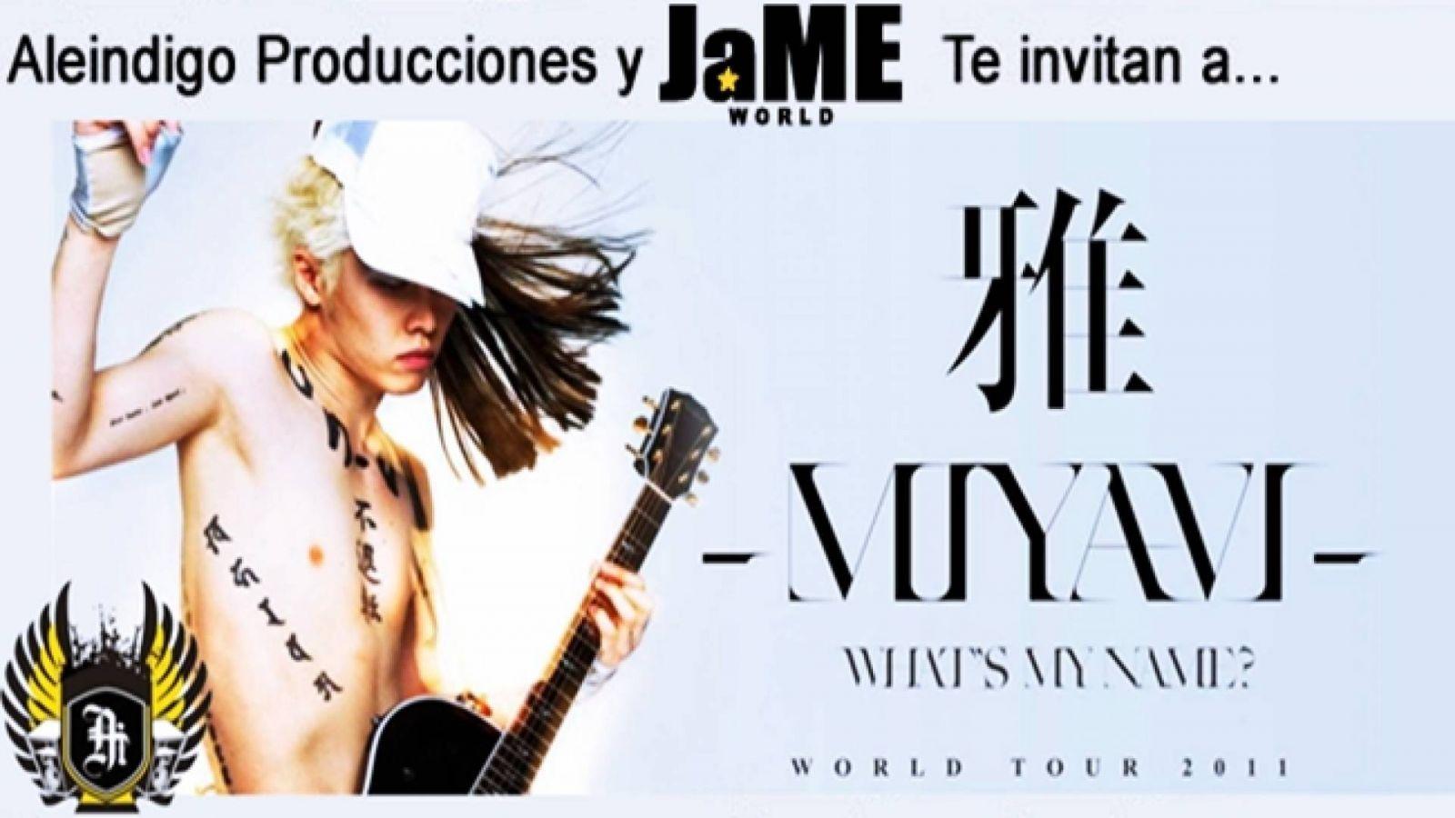 ¡Gana una entrada para el concierto de MIYAVI en Venezuela! © MIYAVI