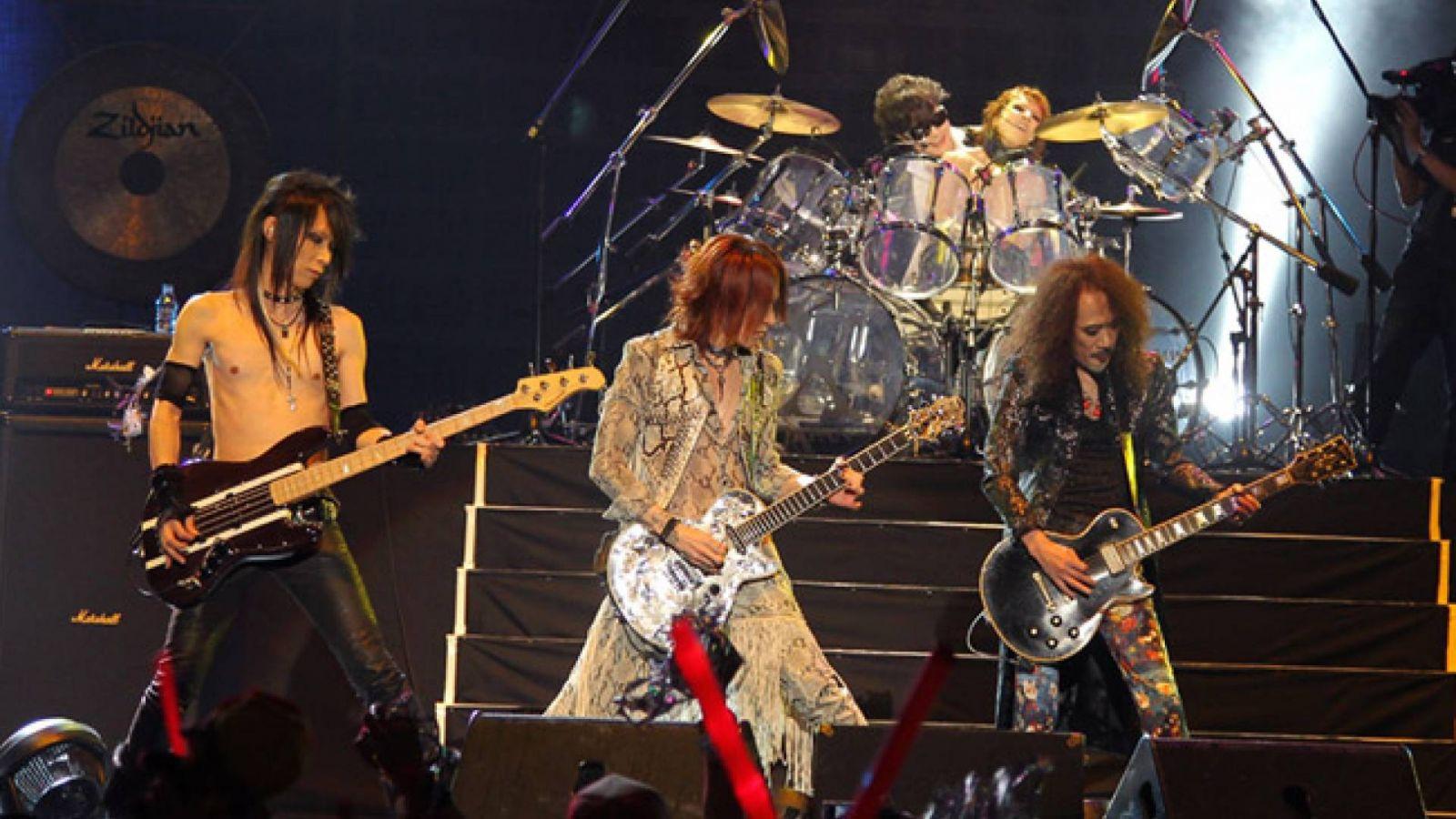X JAPAN 2011 世界巡回演唱会香港站 © X Japan