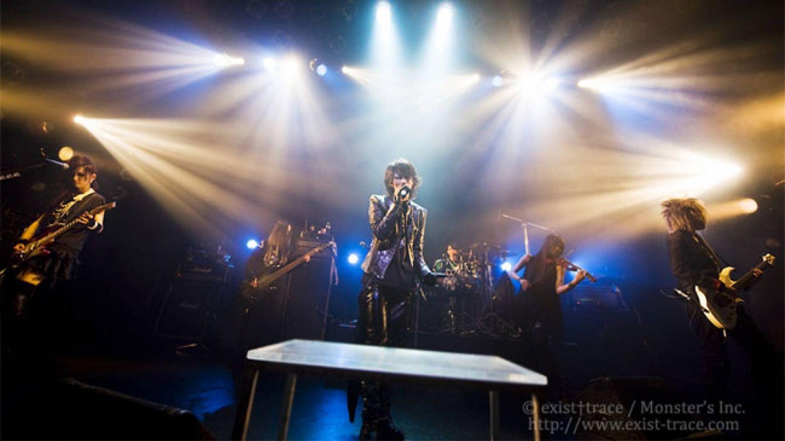 DVD ao vivo e Turnê one-man do exist†trace © exist†trace/Monster's Inc.