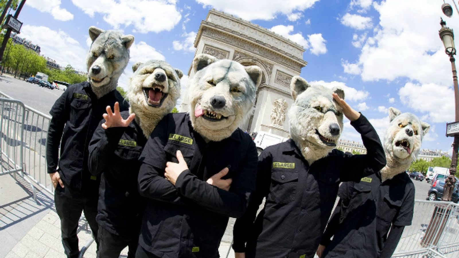 MAN WITH A MISSION muda de selo © MAN WITH A MISSION