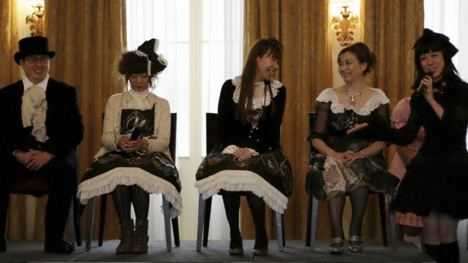 5-летний юбилей The Tea Party Club: беседа о стиле лолита © Nina Kefer