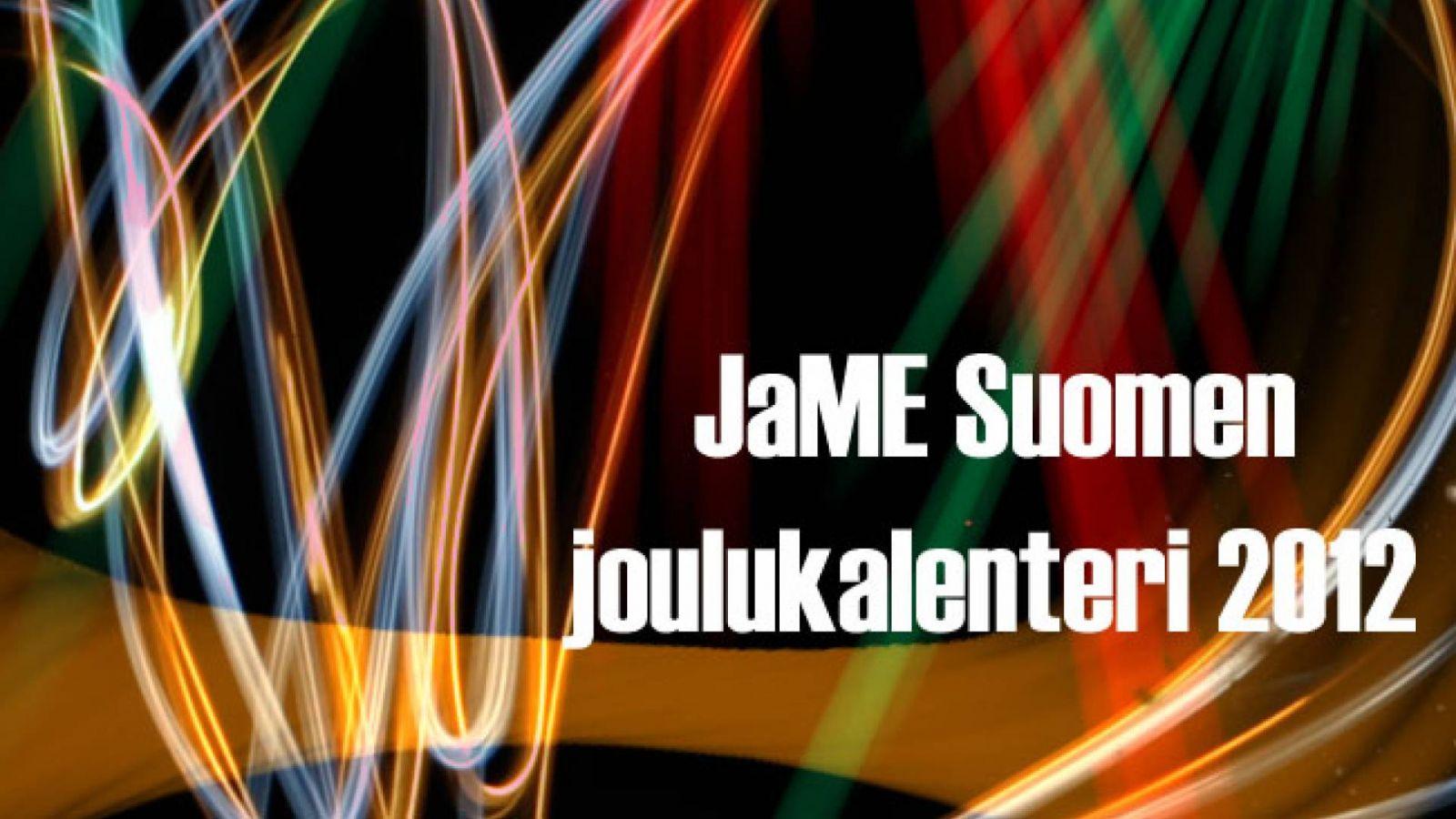 JaME Suomen joulukalenteri: 8. luukku © rreichu, JaME Suomi