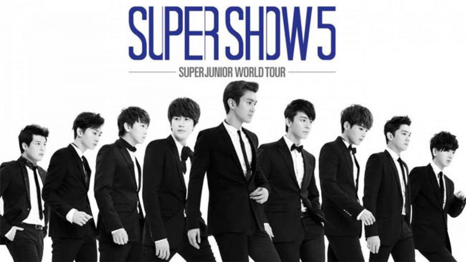 Detalhes do Super Show 5 no Brasil © SM Entertainment