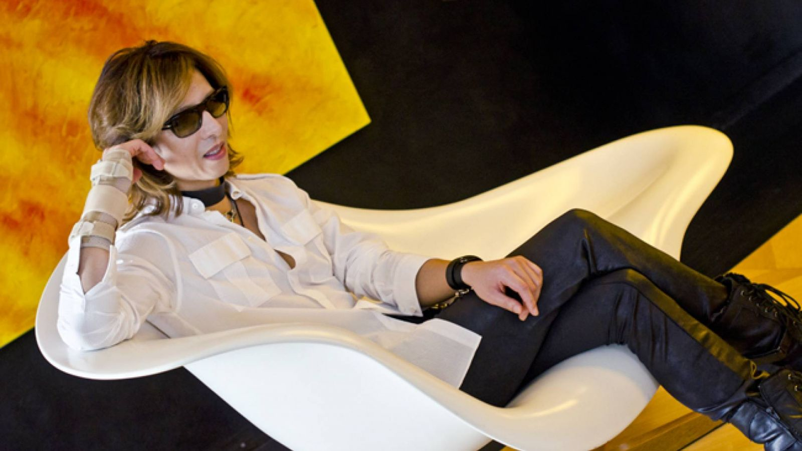 Interview mit YOSHIKI © YOSHIKI - JaME - SaKi