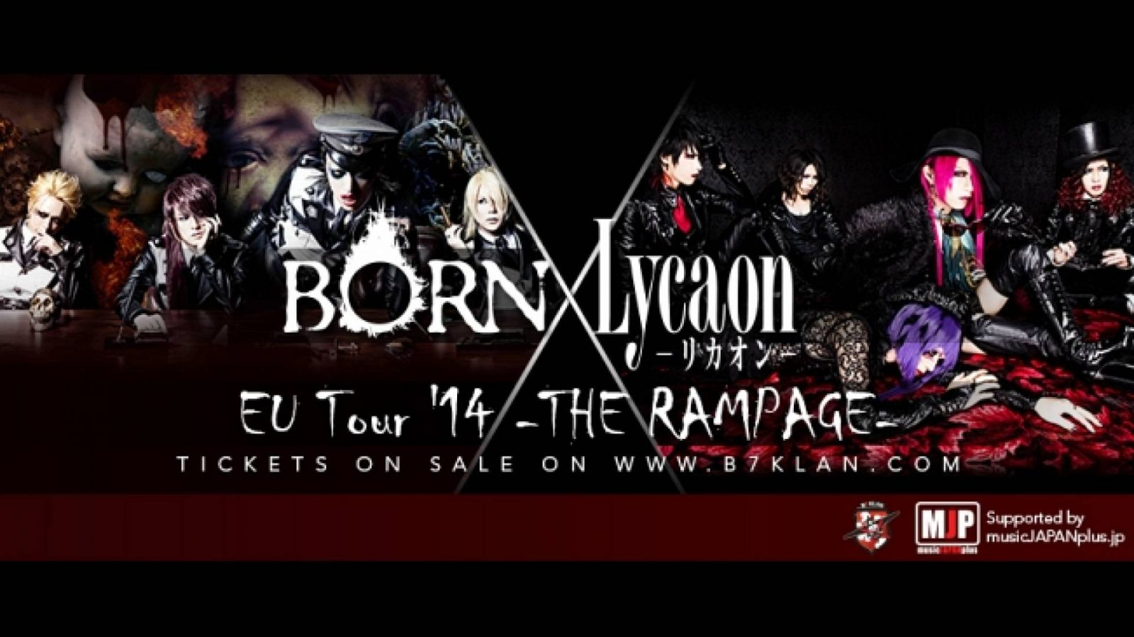BORN and Lycaon European Tour © All Rights Reserved.