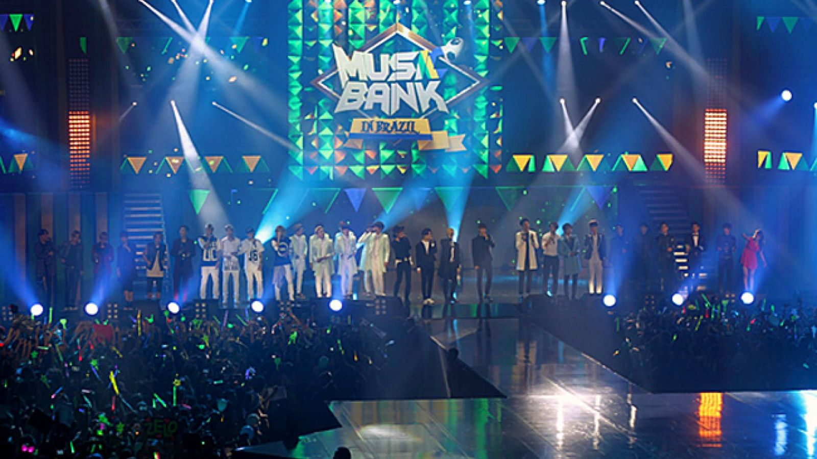 Music Bank in Brazil © Dennis Himura