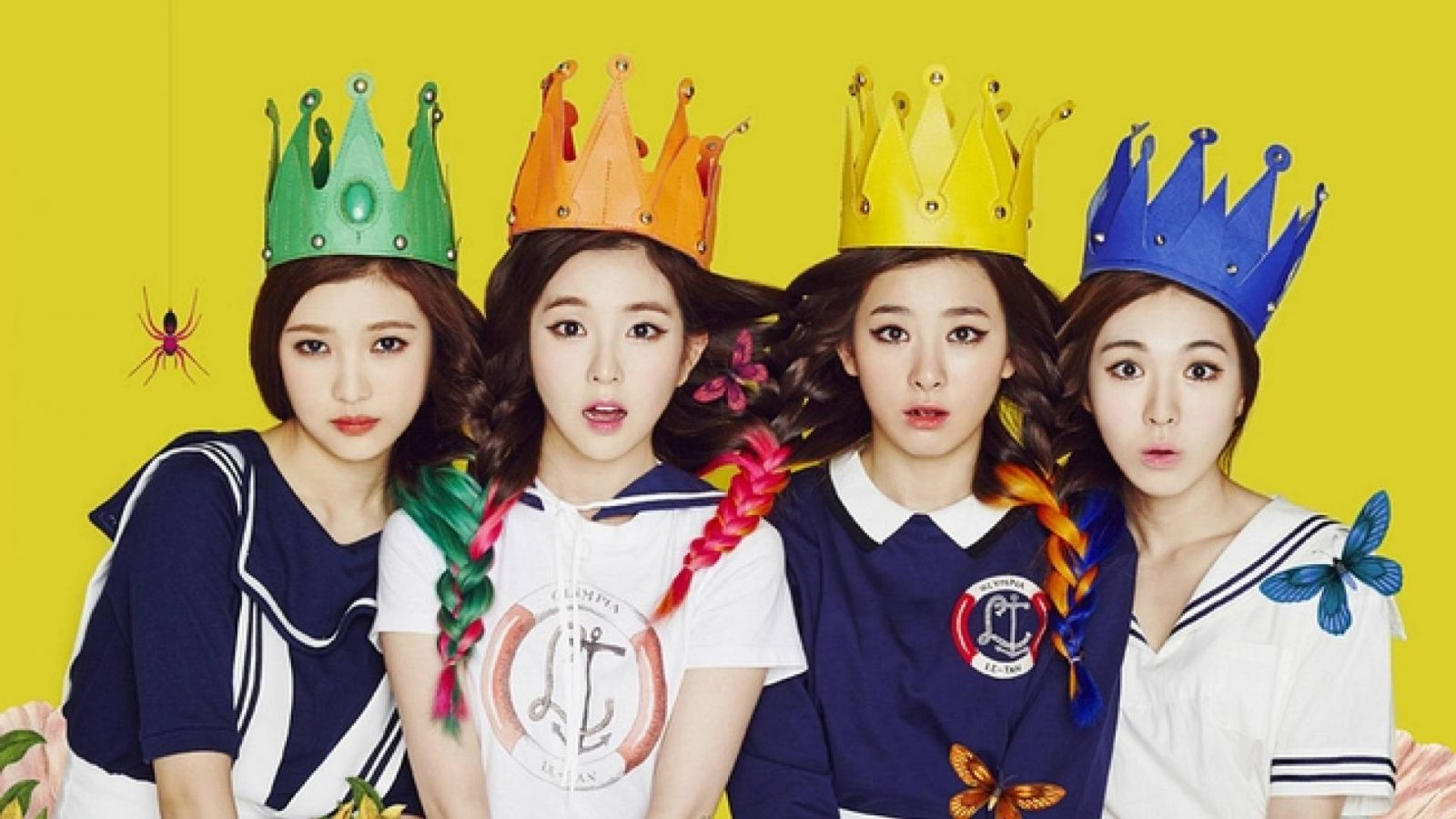 Red Velvet, new girl group from SM Entertainment © SM TOWN Official Facebook