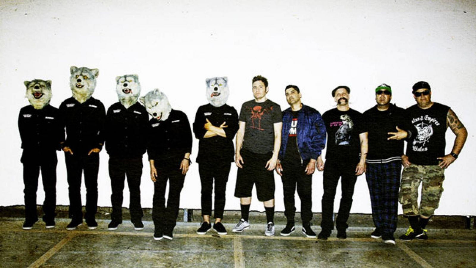 MAN WITH A MISSION and Zebrahead's Split EP to be Released Overseas © MAN WITH A MISSION and Zebrahead