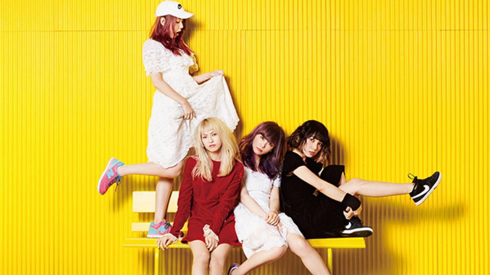 SCANDAL zurück in Europa © Epic Records Japan. All rights reserved.