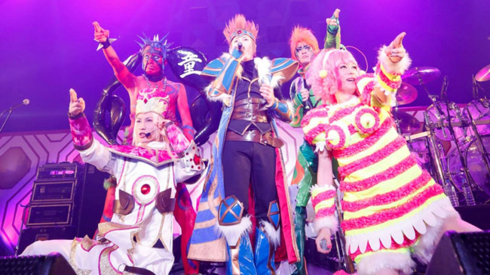 the GazettE ao vivo no Nara Centennial Hall © Sony Music Entertainment (Japan) Inc. All rights reserved.