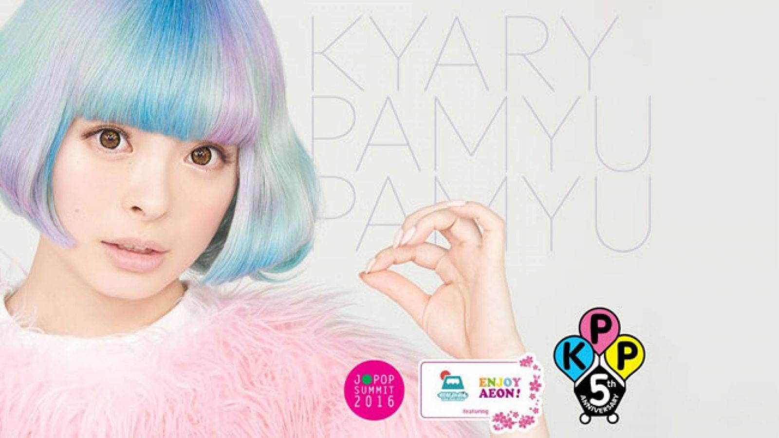 J-POP SUMMIT Announces Opening Live Concert by Kyary Pamyu Pamyu © 2015 ASOBISYSTEMS CO.,LTD