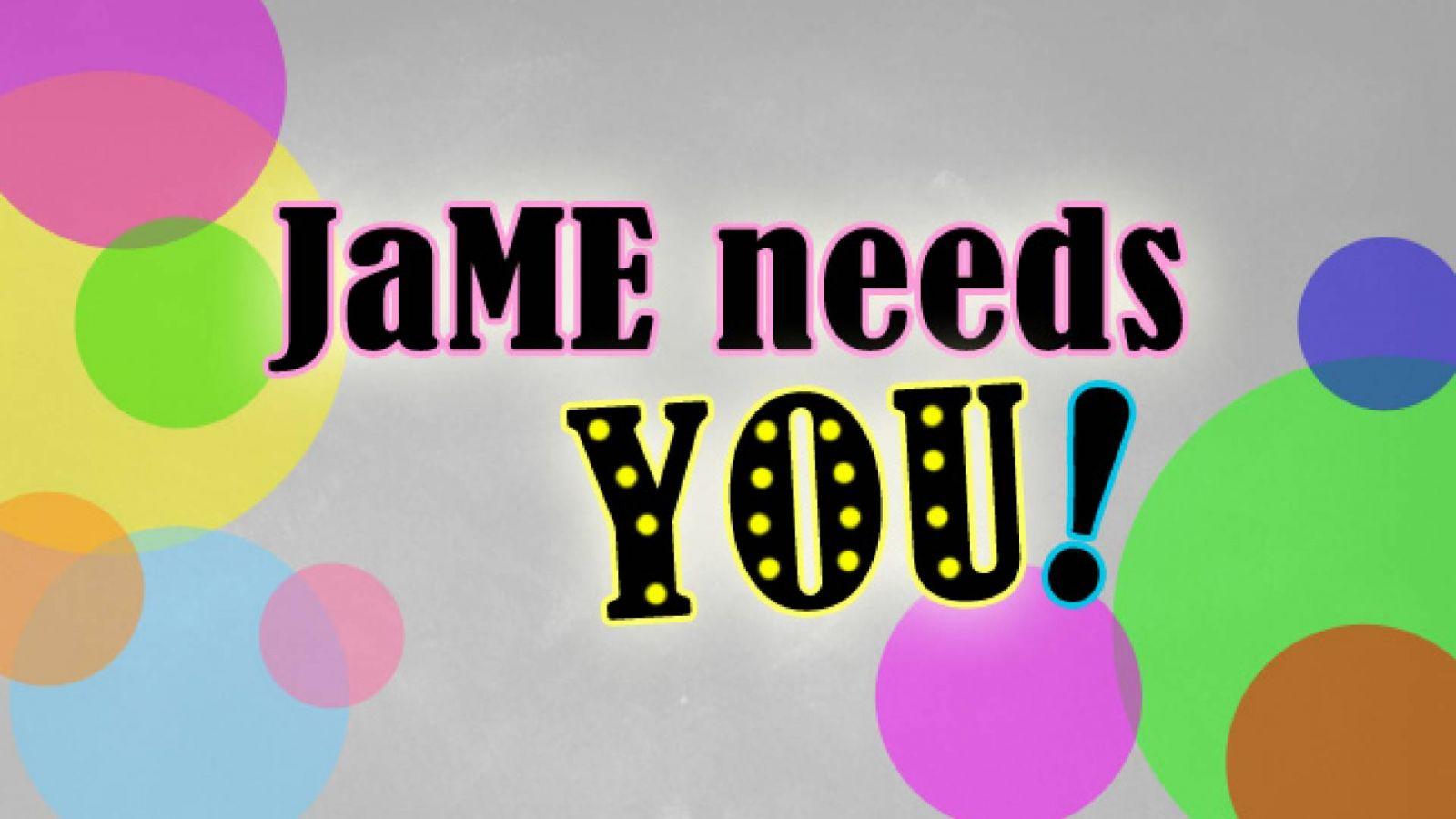 Das JaME-Team sucht Dich
