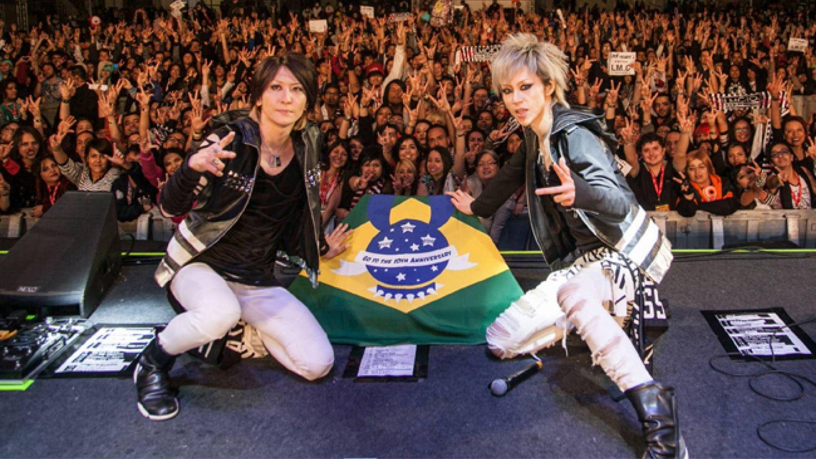 Entrevista com o LM.C no Brasil © Yamato Music