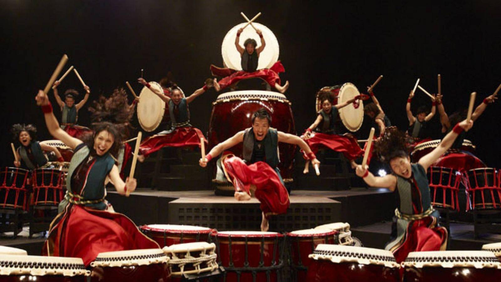 "YAMATO - The Drummers of Japan mit ""Kaiki ten"" in Berlin © Seo Hiroshi"