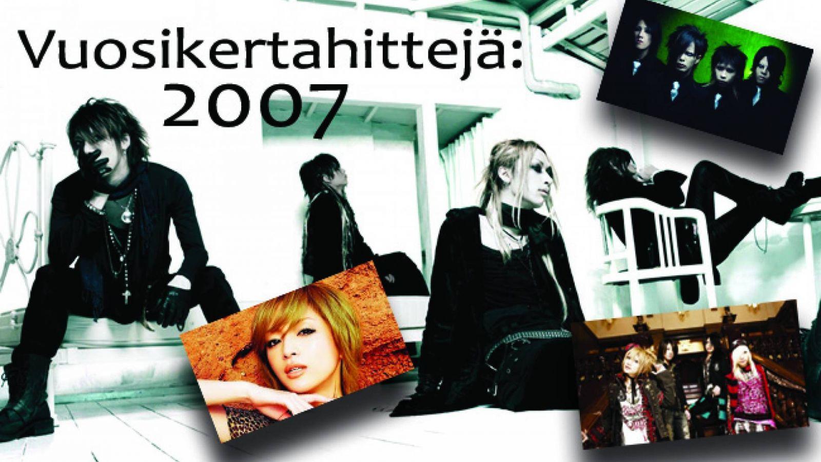 Vuosikertahittejä: 2007 © JaME Suomi, Niina Pasto