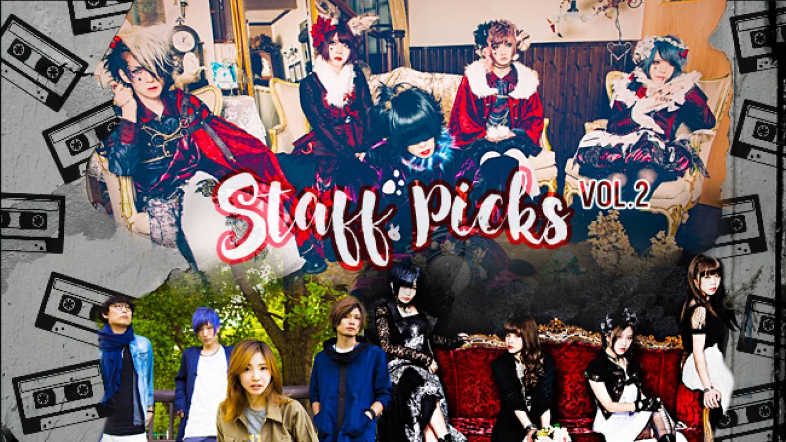 Staff Picks Vol. 2 © Grimore - Hysteric Lolita - Special Thanks - JaME