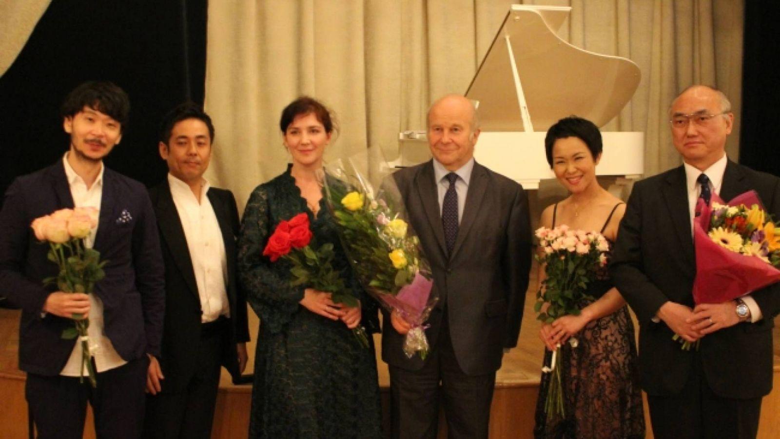 «Вечер стихов и арий о любви» в Санкт-Петербурге © Генеральное консульство Японии в Санкт-Петербурге