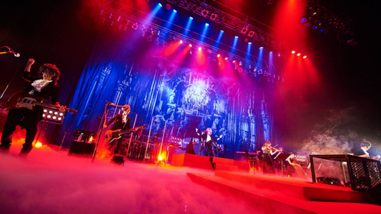 "KAMIJO ""Epic Rock Orchestra"" en Zepp DiverCity © CHATEAU AGENCY. All rights reserved."