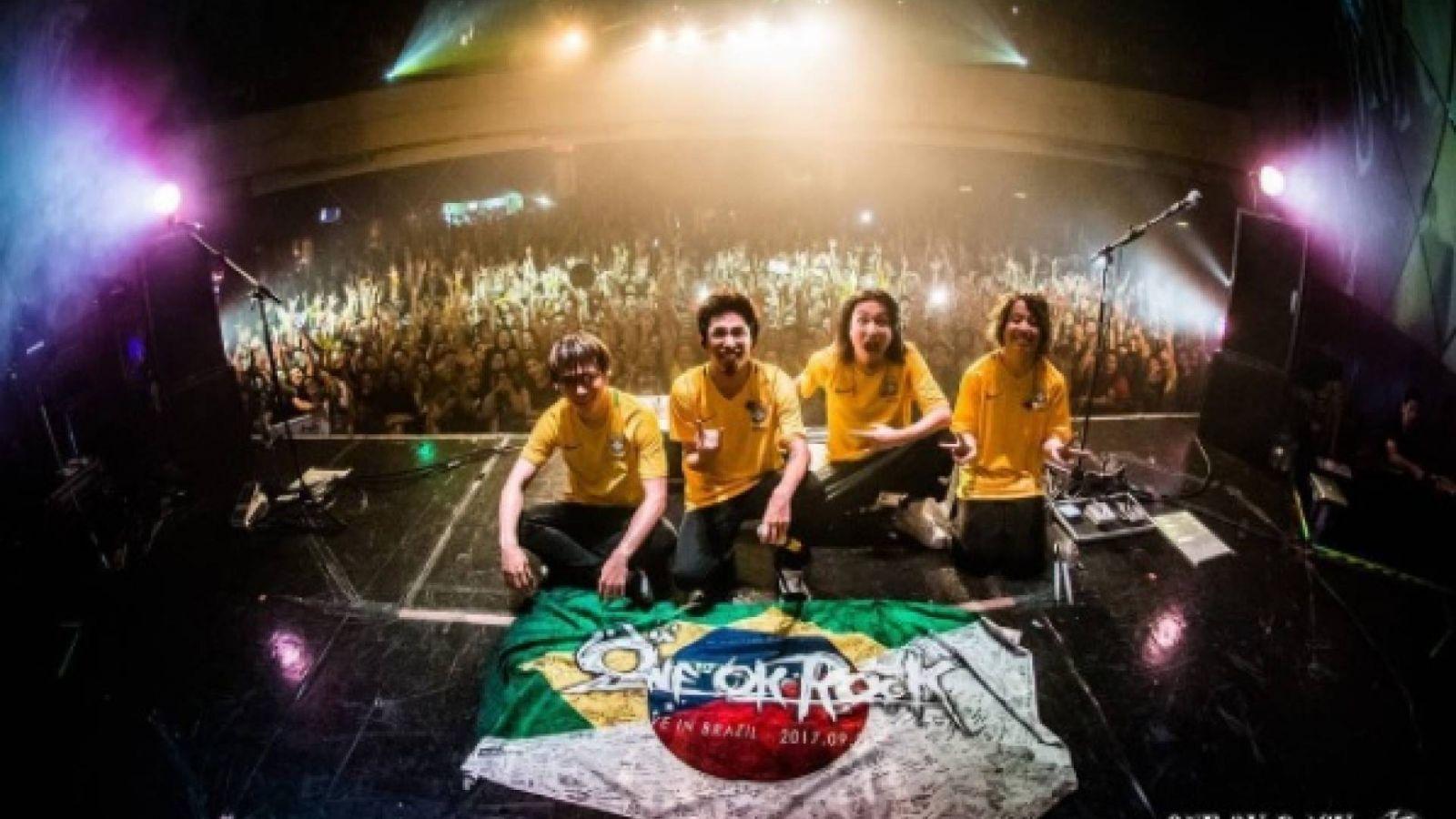 ONE OK ROCK em São Paulo © Carol