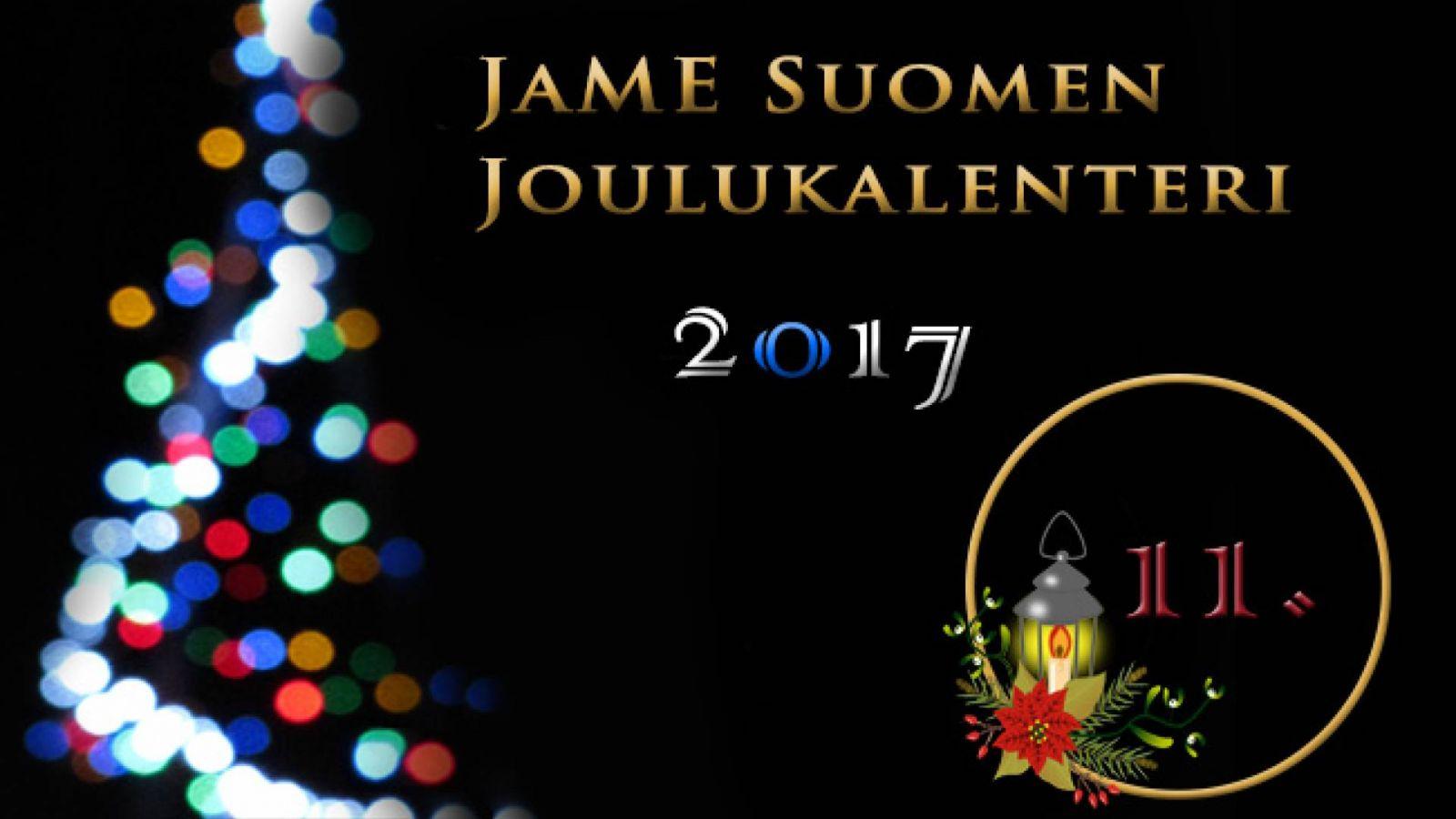 JaME Suomen joulukalenterin 11. luukku © Nipsu