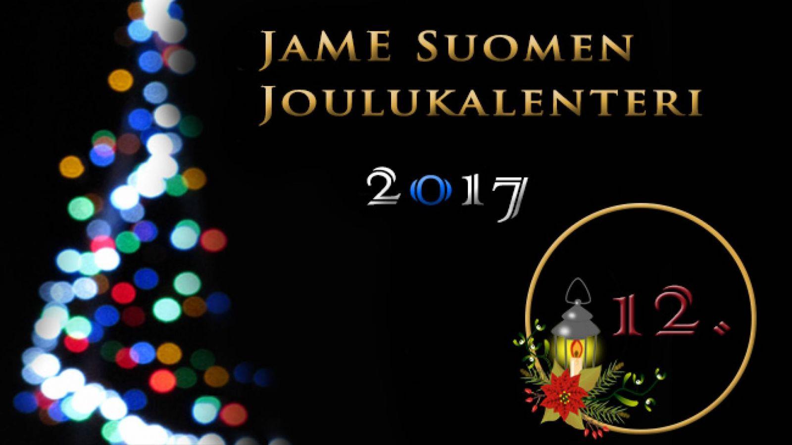 JaME Suomen joulukalenterin 12. luukku © Nipsu