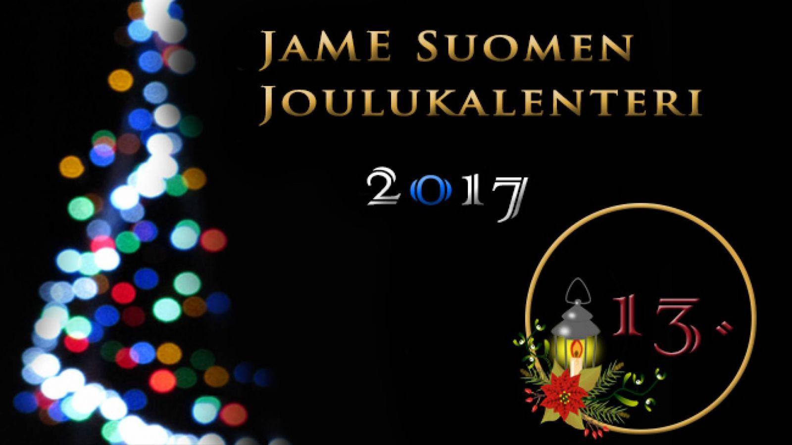 JaME Suomen joulukalenterin 13. luukku © Nipsu