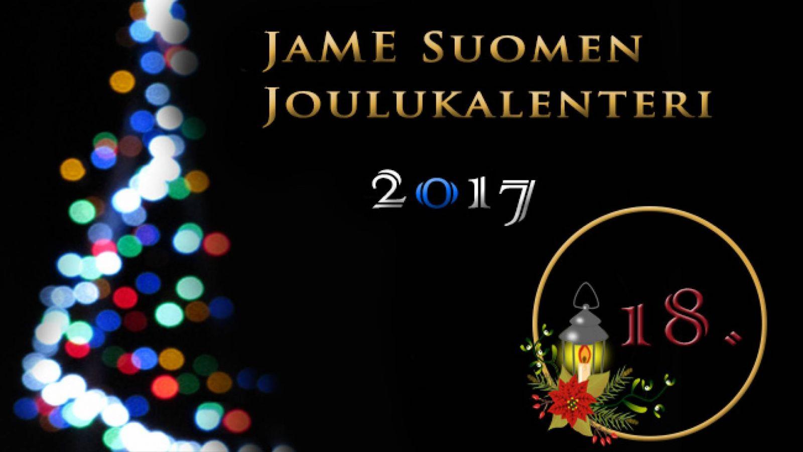 JaME Suomen joulukalenterin 18. luukku © Nipsu