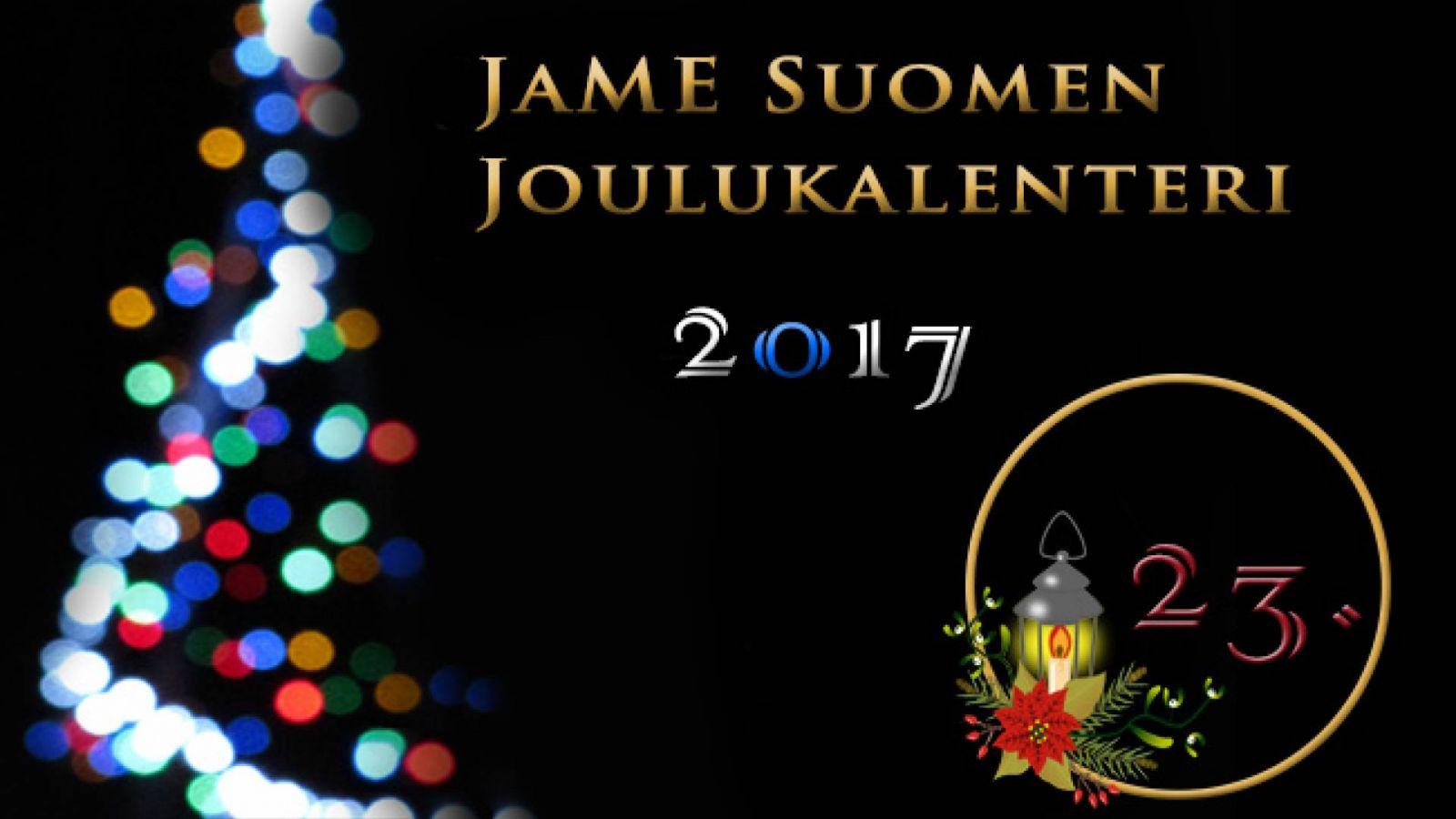 JaME Suomen joulukalenterin 23. luukku © Nipsu
