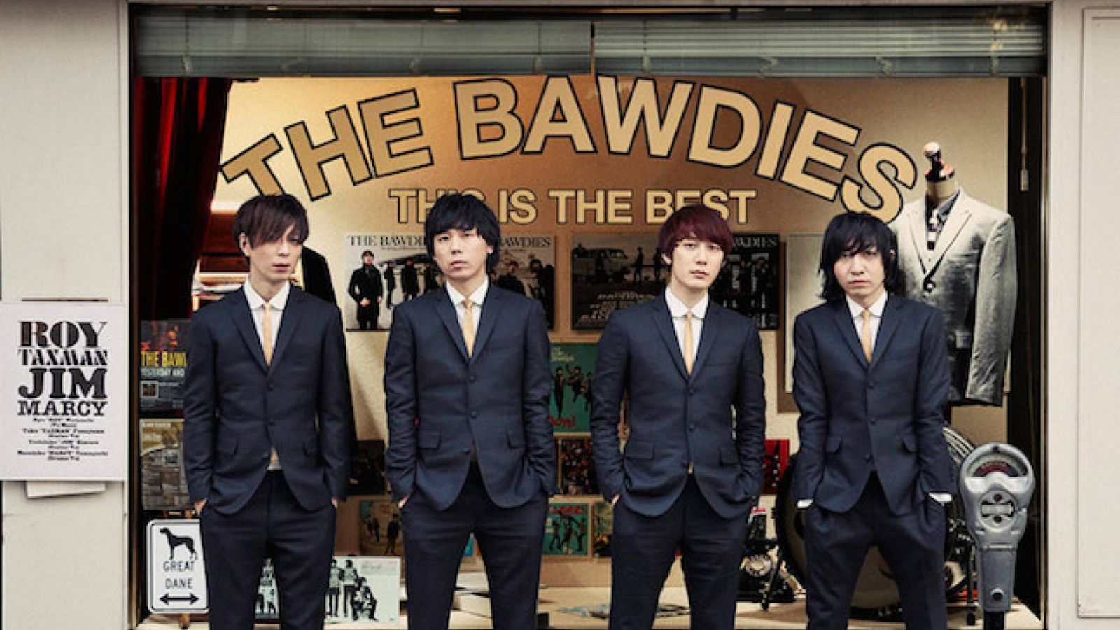 Álbum recopilatorio de THE BAWDIES © THE BAWDIES