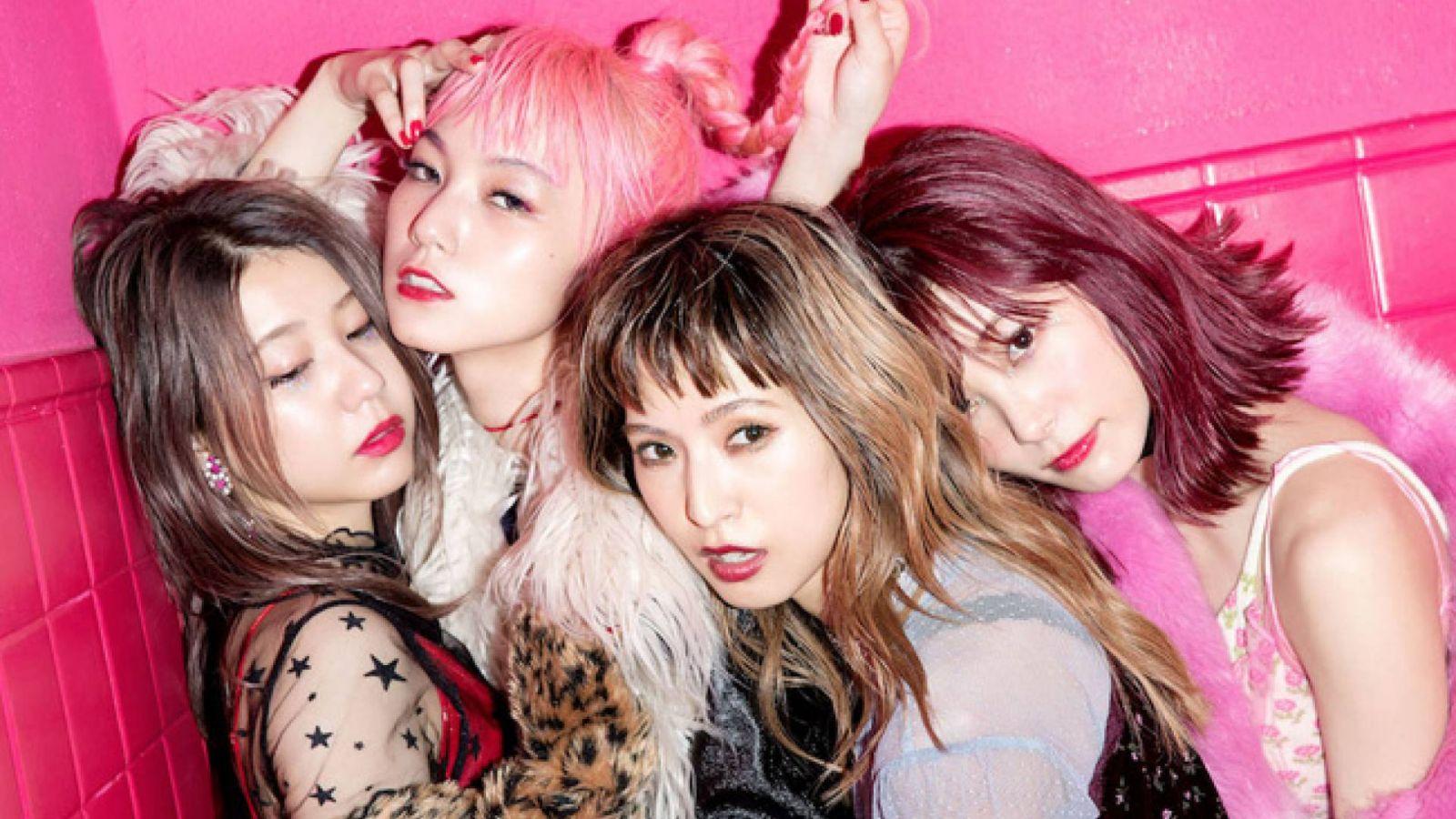 Tyttöryhmä SCANDAL julkaisee kahdeksannen studioalbuminsa myös Euroopassa © Epic Records Japan