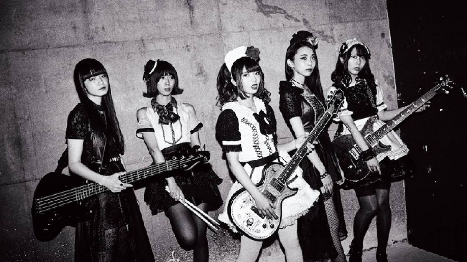 BAND-MAID - glory / Bubble © PLATINUM PASSPORT. All Rights Reserved.