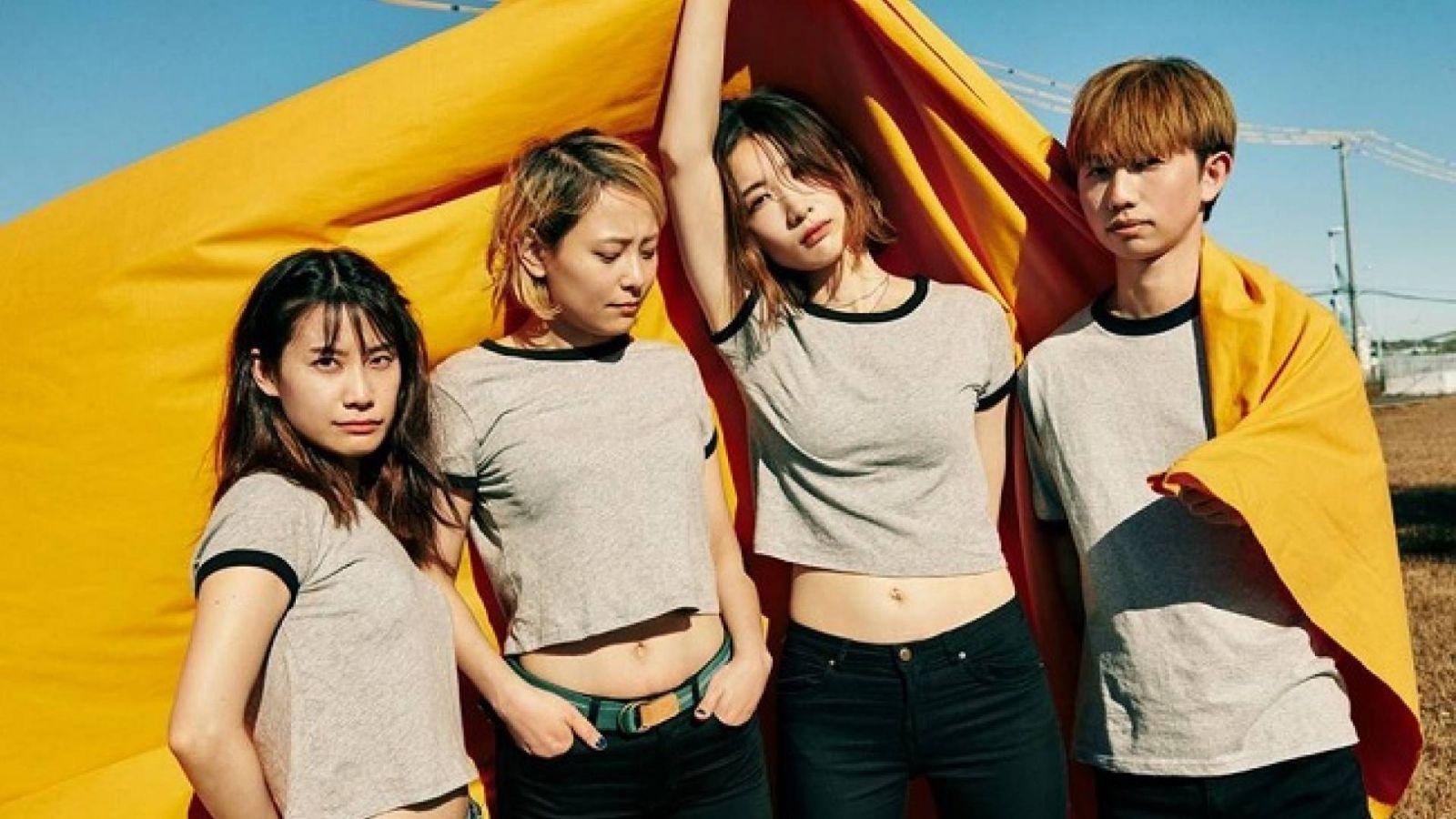 tricot anuncia nuevo single y conciertos en Estados Unidos y México © BAKURETSU RECORDS