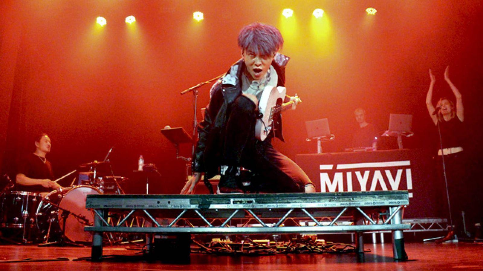 MIYAVI en ULU Live, Londres © Rachel Yarwood