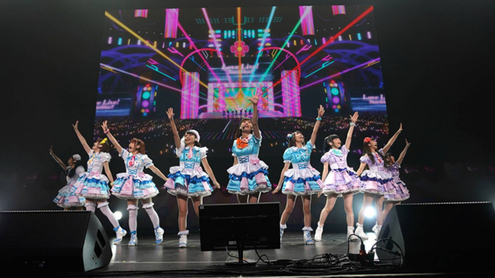 LOVELIVE! SUNSHINE!! Aqours World Love Live! in LA ~Beyond the Pacific~ at Anime Expo 2018 © Anisong World Matsuri
