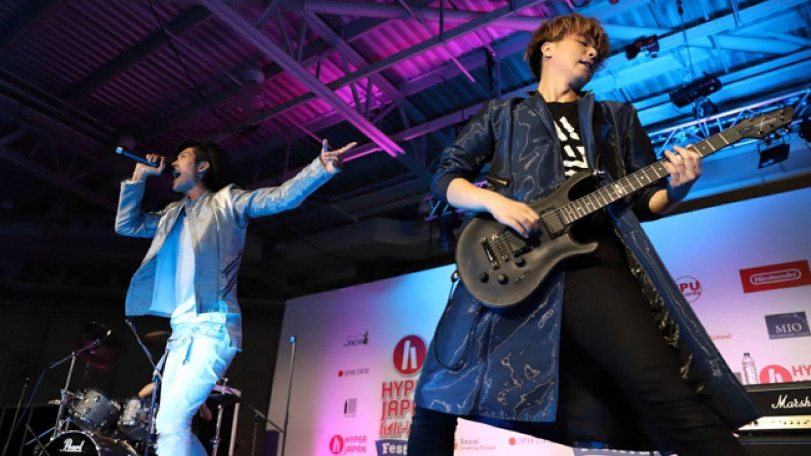 THE SIXTH LIE at HYPER JAPAN Festival 2018, London © ChrisN