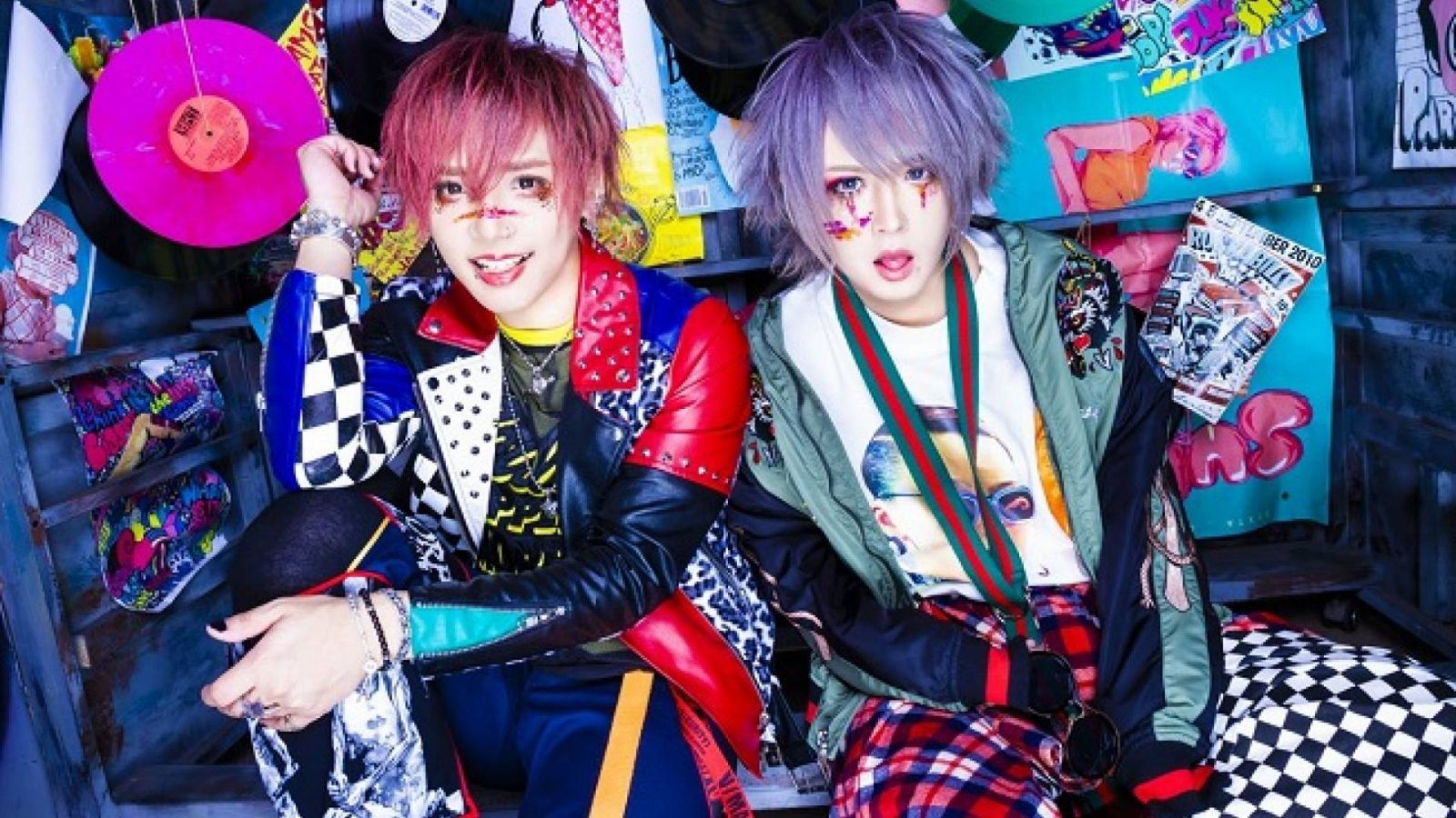 FEST VAINQUEUR and LEZARD Members Form New Visual Kei Duo © 2018 Sirene Co. All rights reserved.