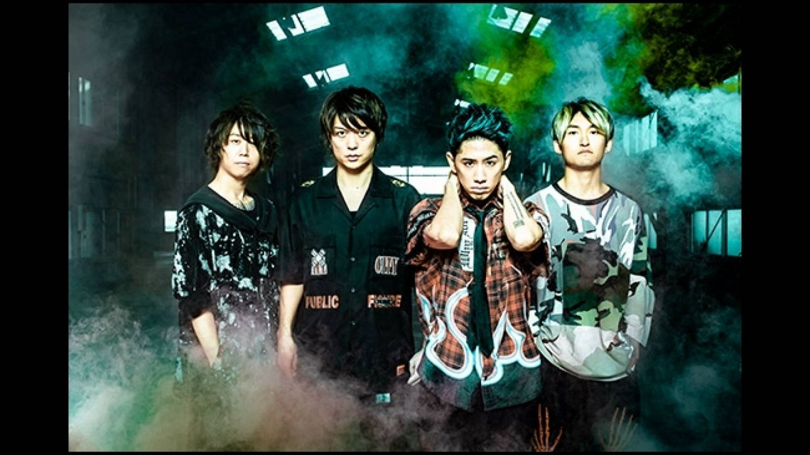 ONE OK ROCK - Eye Of The Storm © AMUSE INC. All Rights Reserved.