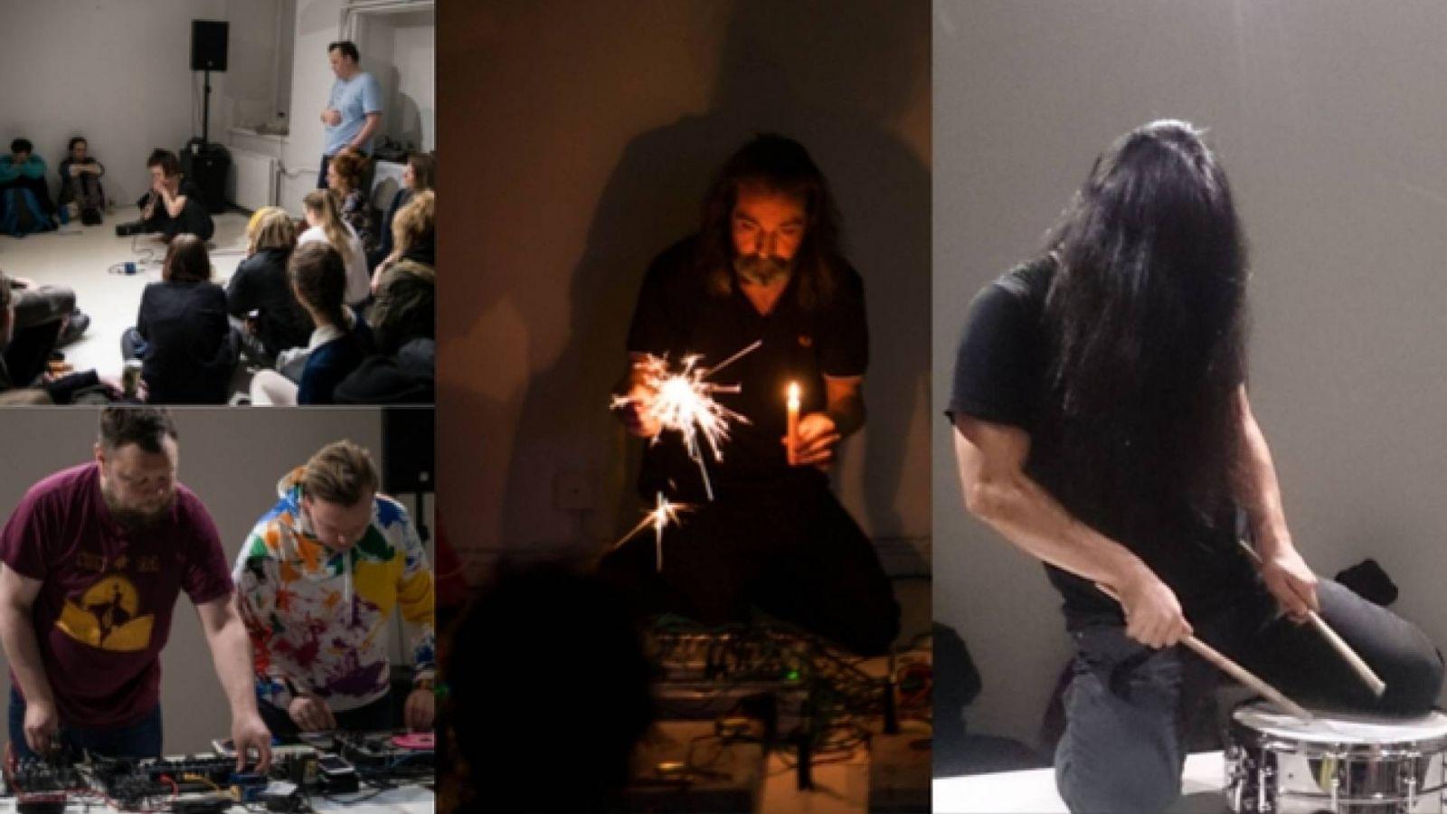 An Evening of Performative Sound-arts - Helsinki 13.4.2019 © Iina Kaikko, JaME Suomi